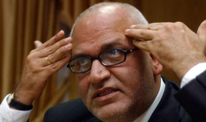 Saeb Arekat, secrétaire-général du comité exécutif de l'OLP ultra virulent, vient se faire guérir en Israël
