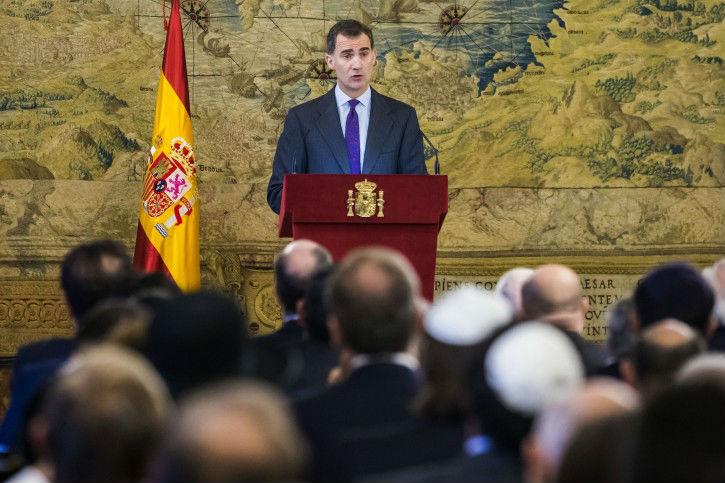 Incroyable déclaration du roi d'Espagne:«Juifs, vous nous avez manqué!»Par Bely