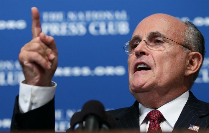 L'ancien maire de New York, Rudy Giuliani : «L'attaque de San Bernardino n'a rien à voir avec le contrôle des armes à feu»