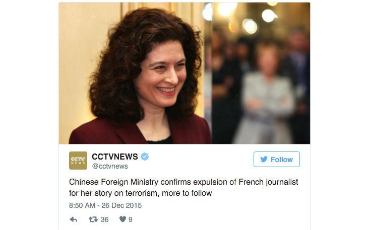 Chine : une journaliste française de l'Obs jugée trop propagandiste pro-islam expulsée