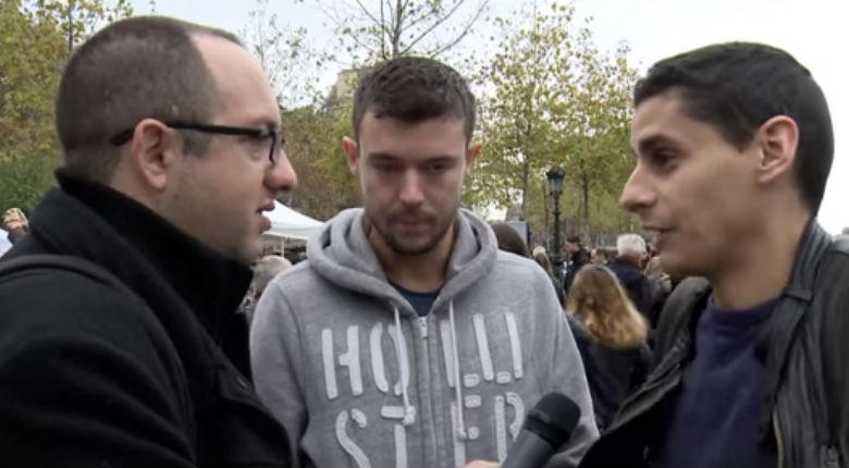Vidéo – A Paris après les attentats, un journaliste israélien pastiche la façon dont les médias français traitent des attentats en Israël. Réactions des français…