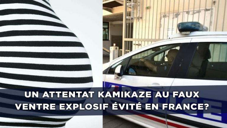 Montpellier : Un couple soupçonné de préparer un attentat kamikaze avec un faux ventre de femme enceinte pour cacher des explosifs