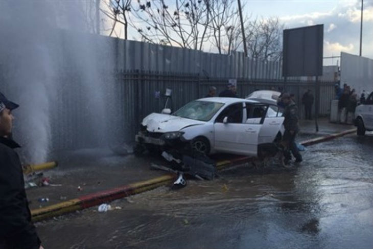 Attentat à la voiture-bélier à Jérusalem : Onze blessés dont un bébé. Le terroriste abattu
