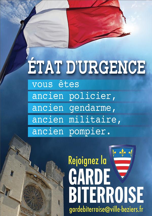 garde biterroise Ménard
