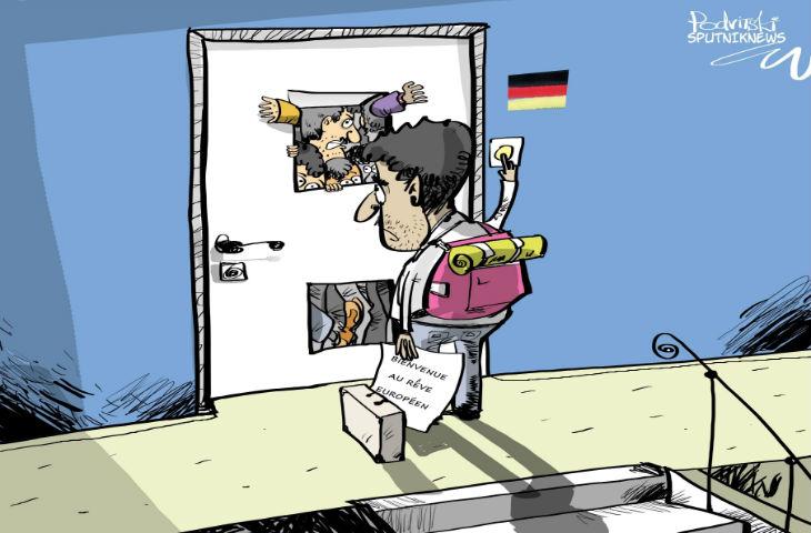 Sondage: 40% des immigrés allemands ne veulent pas de nouveaux migrants