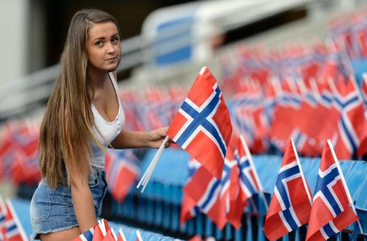 Norvege rencontre femme