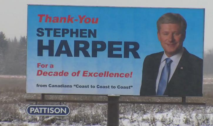 «Dix ans d'Excellence: «un citoyen canadien remercie l'ancien ministre Harper pour son action à la tête du Canada