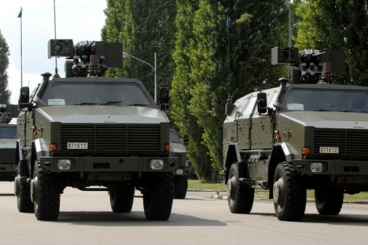 Belgique : Sabotages dans une caserne, 5 véhicules militaires ont été piégés avec des engins incendiaires