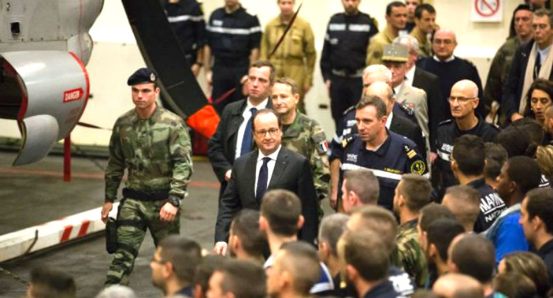 Porte avion Charles de Gaulle : À son bord, 10% des militaires embarqués de confession musulmane. Accepteront-ils de lutter contre Daesh ?