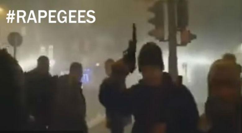 Berlin : migrants, armes à feu, explosions et chaos… une vidéo que les médias ne montreront pas