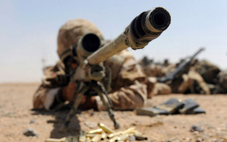 Irak: Un Sniper britannique inculpé d'homicide pour avoir abattu un terroriste qui allait tirer au RPG sans sommation