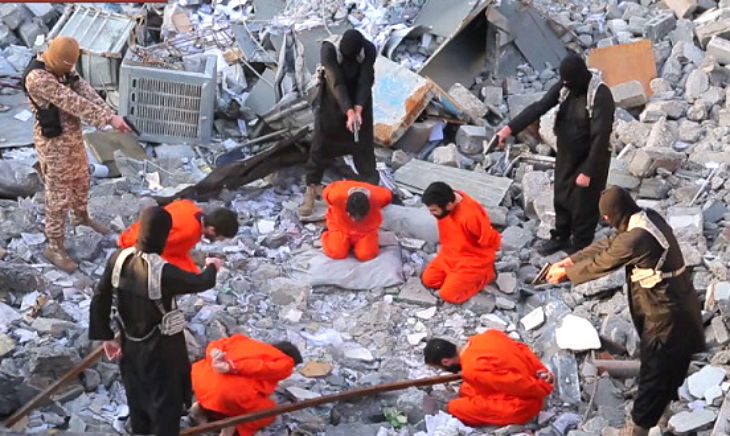 Etat islamique exécution