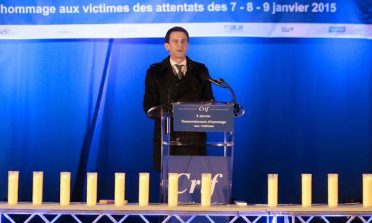 Hyper Cacher : Manuel Valls «Voir des Français juifs quitter, de plus en plus nombreux, leur pays parce qu'ils ne se sentent plus en sécurité… une idée insupportable »