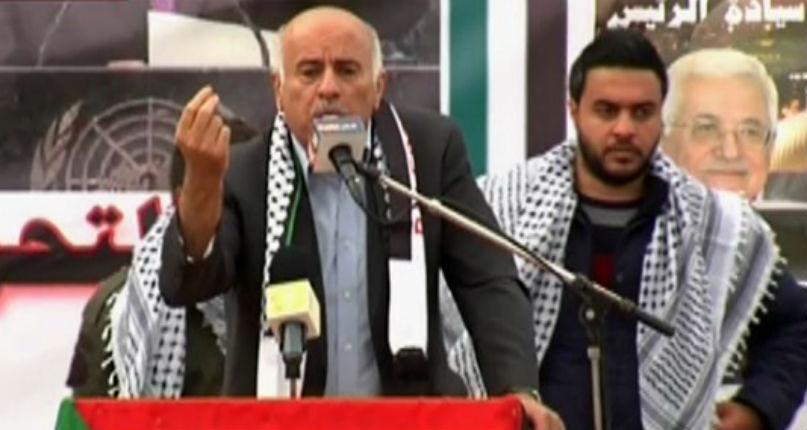 Jibril Rajoub, membre du Comité central du Fatah, aux Israéliens : «Fils de chiens, le pseudo-processus de paix est terminé»