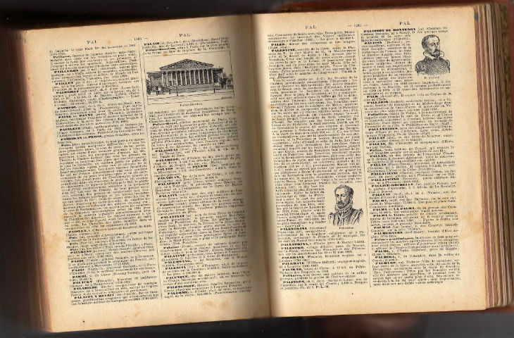 Le Larousse de 1925 dit que la Palestine était un Etat juif, avec pour capitale Jérusalem