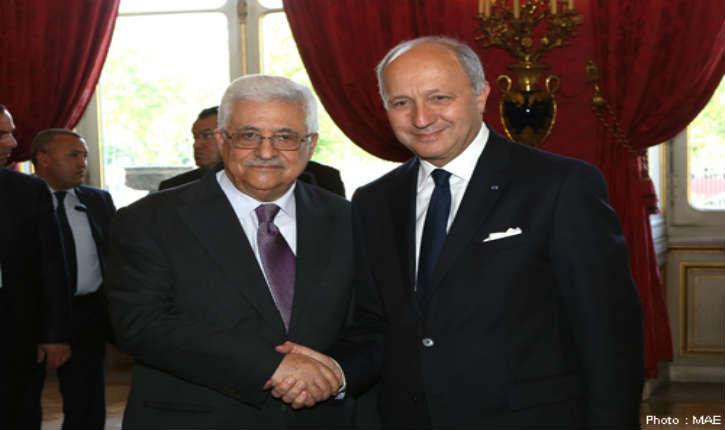 Laurent Fabius impose un chantage envers Israël en voulant faire reconnaître un Etat palestinien en cas d'échec du processus de paix