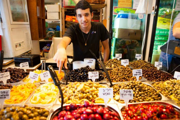 Israël: Regards sur la Street Food du Shouk Ha' Carmel à Tel Aviv