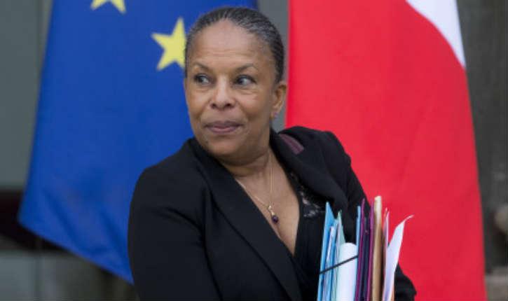 Christiane Taubira, ministre de la justice a démissionné du gouvernement, elle est remplacée par Jean-Jacques Urvoas