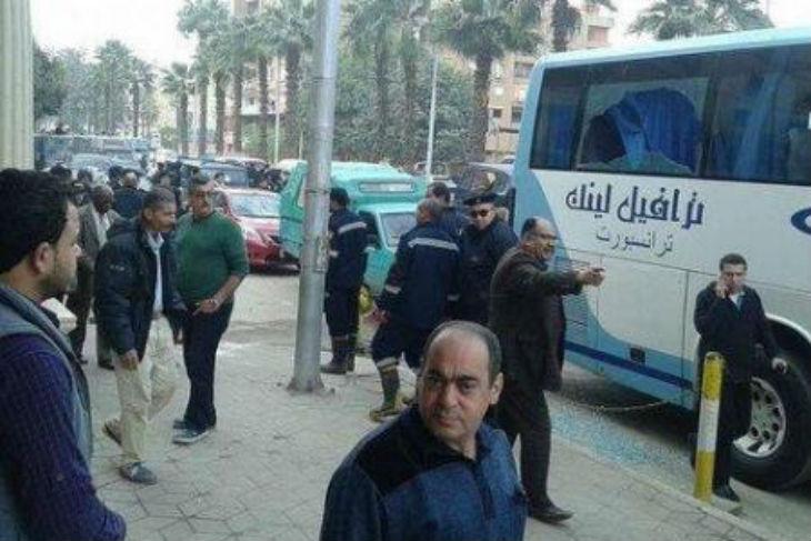 Les Arabes plus en sécurité en Israël qu'en Egypte : Attaque armée au Caire, un bus de touristes Arabes israéliens visé par des assaillants masqués (Photos)