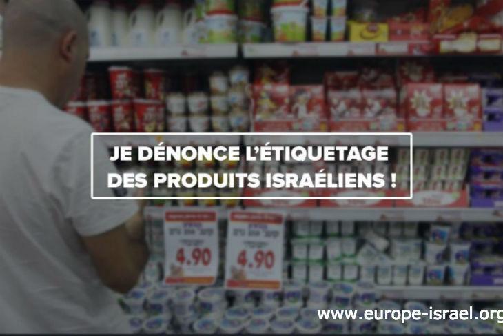 Boycott antisémite : L'Union européenne, qui n'a jamais boycotté aucun autre pays, décide de durcir son texte sur l'étiquetage des produits juifs contre Israël