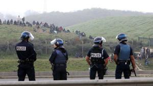 Affrontements à Calais