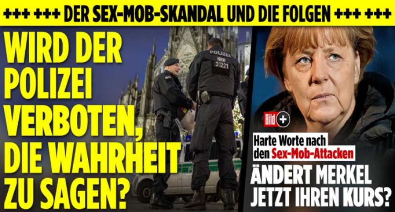 Allemagne : Agressions sexuelles par des meutes de migrants, face aux silences des médias le scandale prend de l'ampleur