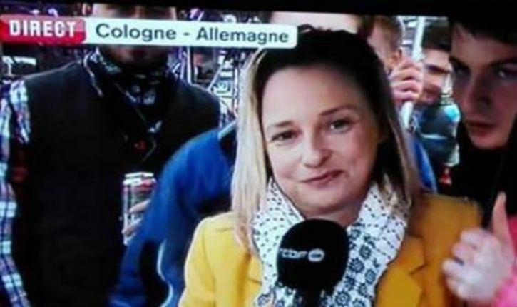 Cologne: une journaliste belge victime de gestes obscènes en direct