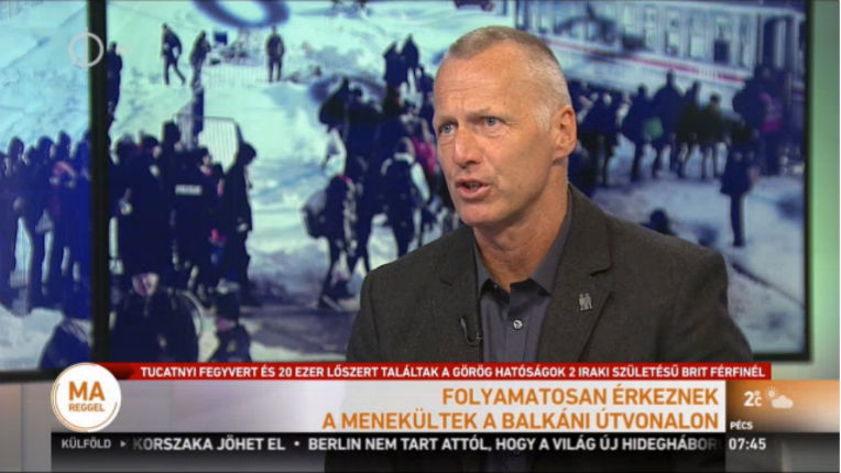George Spöttle, spécialiste de la politique de sécurité hongroise «Nous sommes devenus esclaves des migrants musulmans»