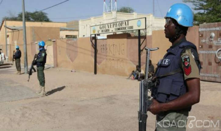 Mali: une base de l'ONU, a été attaquée par des djihadistes à Tombouctou
