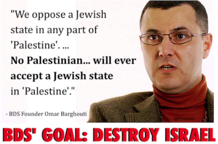 Les Etats-Unis interdisent l'entrée sur leur territoire de l'islamiste Omar Barghouti, fondateur du mouvement antisémite BDS