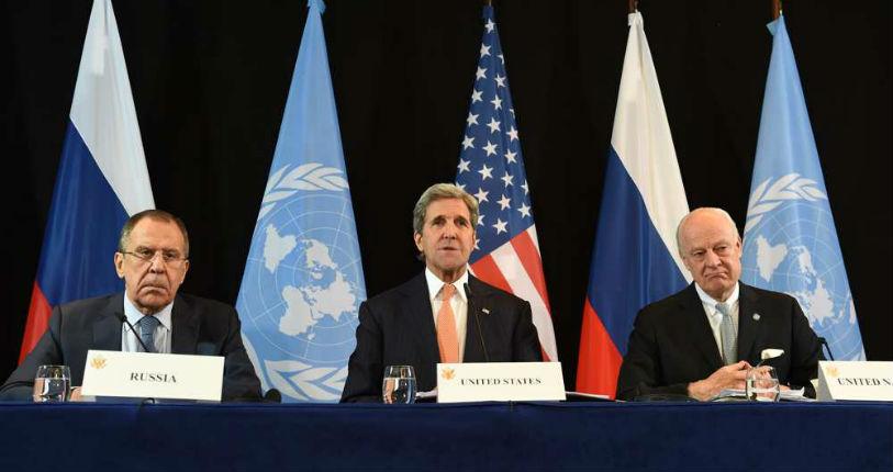 Syrie: Russie et Etats-Unis d'accord pour un cessez-le-feu d'ici une semaine