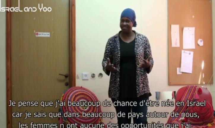 [Vidéo] Une Bédouine israélienne : « je pense que j'ai beaucoup de chance d'être née en Israël »
