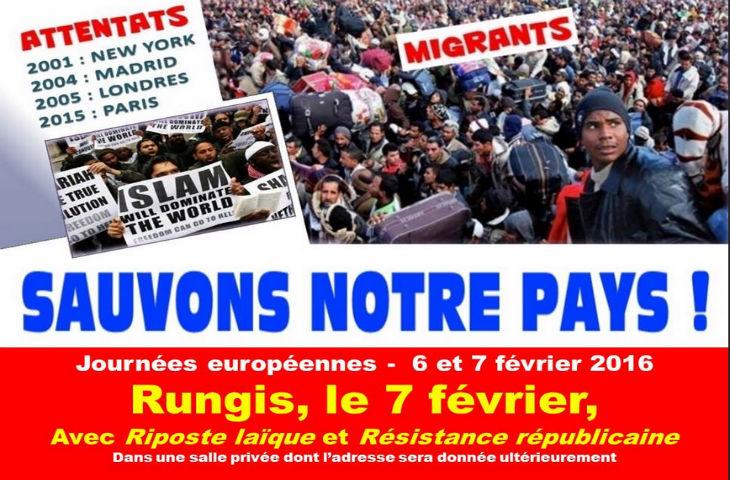 Pegida appelle à des manifestations anti-islamisation le 6 février dans 14 pays. Celles de Saint-Brieuc et Calais interdites