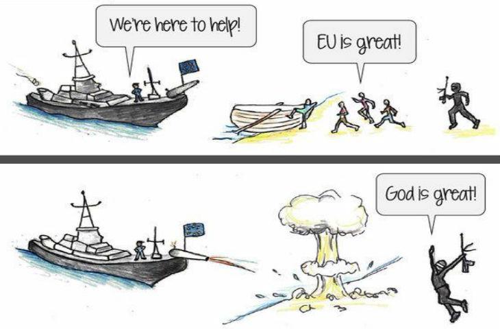 WikiLeaks révèle des documents sur les opérations militaires de l'UE contre le flux de réfugiés