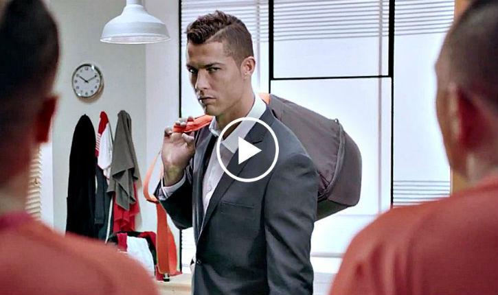 Ronaldo attaqué sur Twitter pour avoir participé à une publicité israélienne