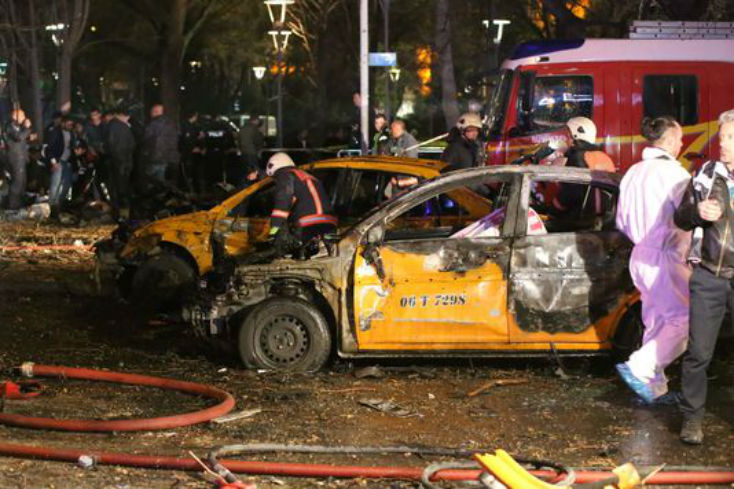 Turquie, attentat d'Ankara : au moins 36 morts, les zones kurdes bombardées en Irak – Vidéos