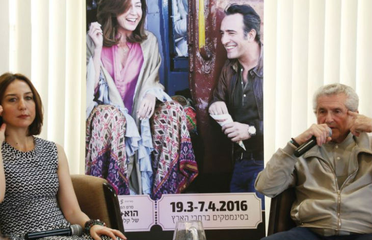 Claude Lelouch et Elsa Zylberstein en Israël pour présenter le film « Un plus une »