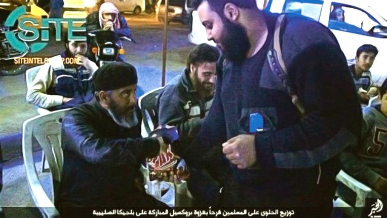 Horreur : L'État islamique distribue des bonbons pour fêter les attentats de Bruxelles (Photos)
