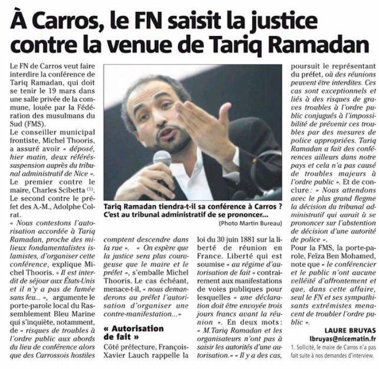 FN Tarik Ramadan