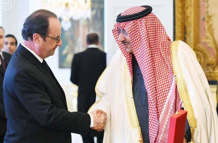 François Hollande a remis la Légion d'honneur au Prince héritier saoudien dans le plus grand secret