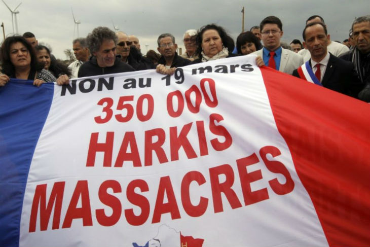 Hollande aux commémorations des accords d'Evian : Les Harkis dénoncent « Le 19 mars, c'est la date de notre massacre »