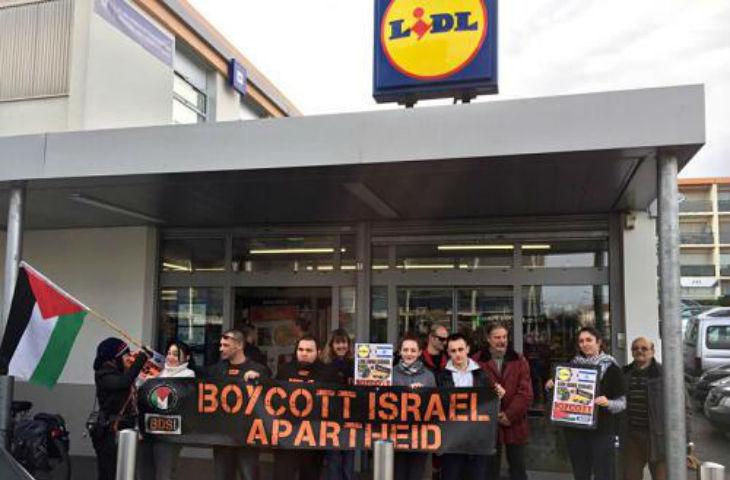 Les antisémites et islamistes de BDS lancent une campagne contre LIDL. Il est temps que le gouvernement français interdise ce mouvement !
