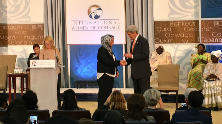 Déradicalisation : le combat de Latifa Ibn Ziaten, mère d'une des victimes de Merah, récompensé à Washington