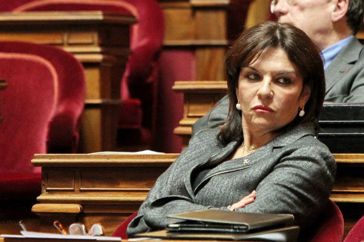 La sénatrice UDI N. Goulet, pro-iranienne et anti-israélienne notoire,  ment en faisant croire que des français financent Tsahal et bénéficient de réductions d'impôts