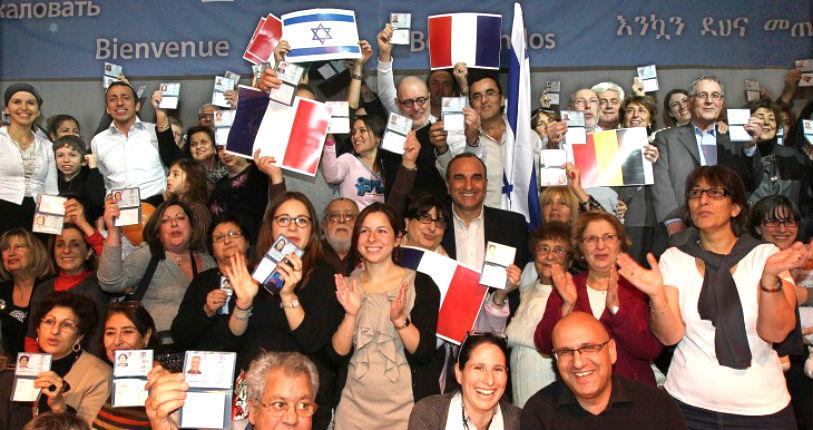 Les chiffres de l'exode des français juifs vers l'étranger par Raphael