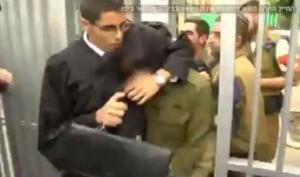 arrestation soldat israelien
