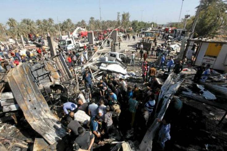 Irak: Au moins 60 morts dans un attentat au sud de Bagdad revendiqué par l'Etat islamique
