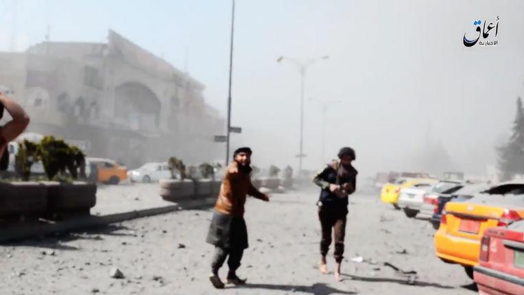 Irak : bombardement américain à Mossoul (attention vidéo horrible)