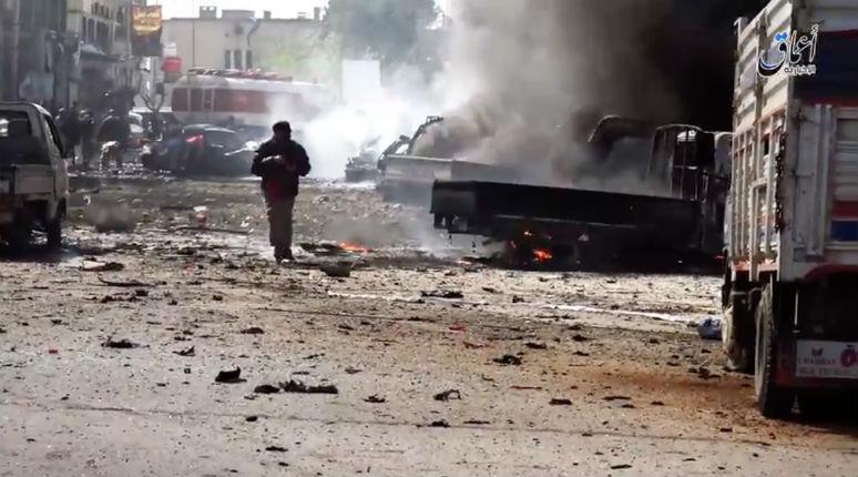 Syrie : au moins 55 civils tués à Raqqa (attention : vidéo horrible). Toujours aucune manifestation des «humanistes» qui s'indignaient lors de la guerre à Gaza…
