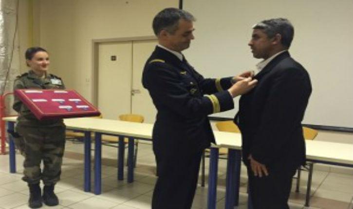[Vidéo] Bordeaux : un imam niant la persécutions des chrétiens d'Orient décoré par l'Armée de l'air !